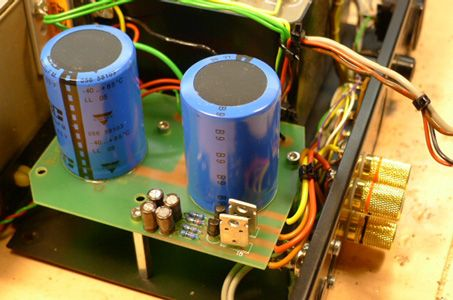 quad refurbishing quad 405 2 power amplifier