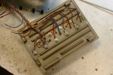 quad refurbishing original wiring for 303 s heat sink